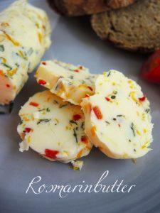 Butter mit Rosmarin