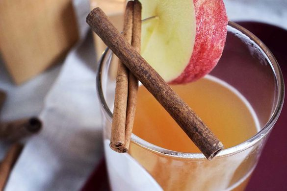 Apfelsaft warm