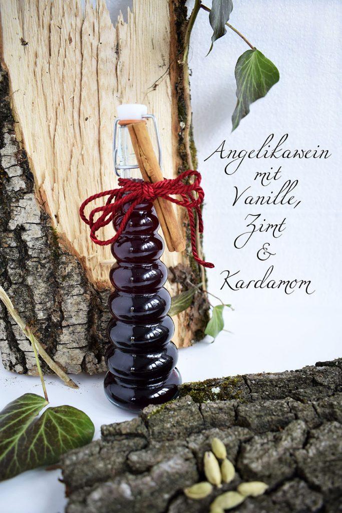 Angelikawein mit Vanille, Zimt und Kardamom