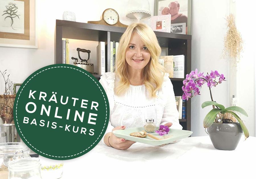 Kräuter Online Basis-Kurs mit Karina Reichl - Fräulein Grün